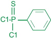 Cas 3497-00-5 Flame Retardant Additives 98% Min Phenylthio Phosphonic Dichloride Intermediate