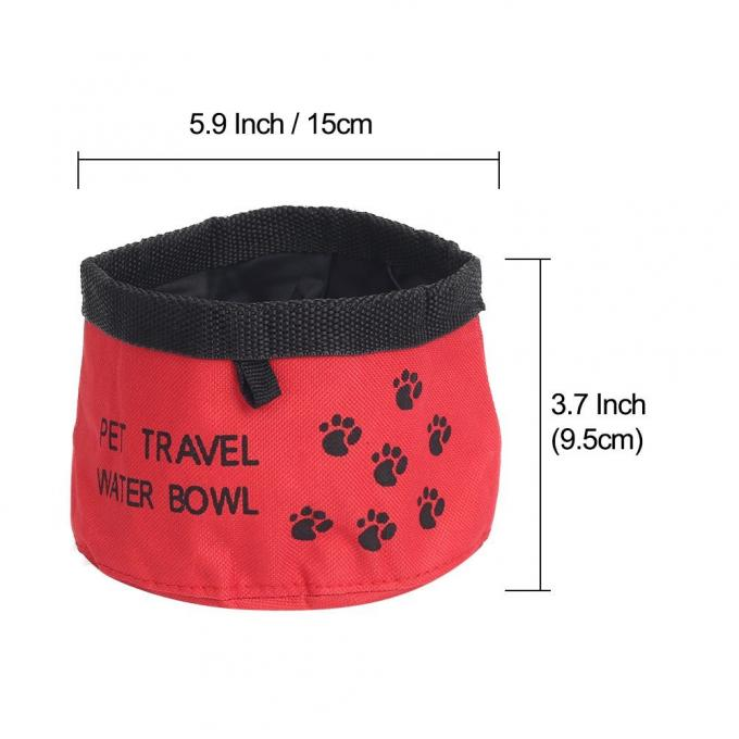 Collapsible Dog Bowls, BPA Free Foldable Travel Dog Bowl for Feed and Water