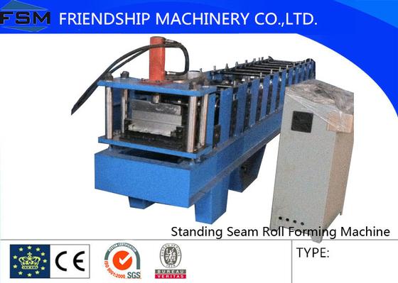 4KW Standing Seam Roll Forming Machine