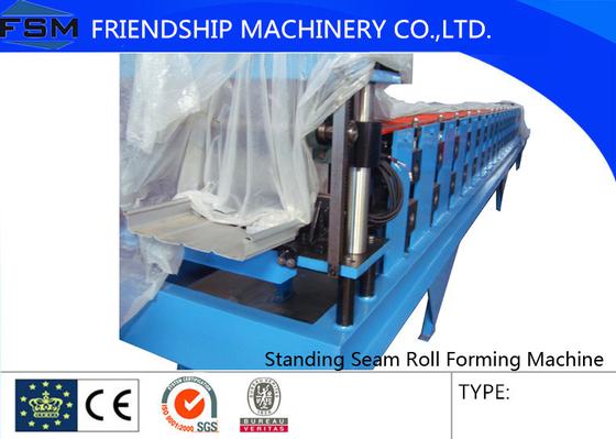 15m/Min Standing Seam Roll Forming Machine