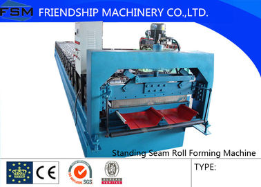 Concealed Standing Seam Roll Forming Machine