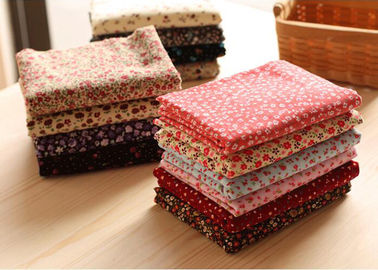 China 98% Cotton 2% Spandex Candy Floral Corduroy Fabric Fabric factory
