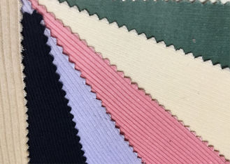 China Colorful Spandex Stretch Corduroy Fabric Material 6w 8w 9w 11w factory