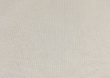 China White / Beige Comfortable Stretch Corduroy Fabric High End Apparel Fabric factory