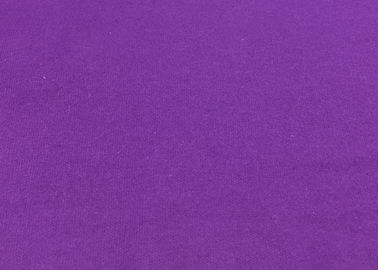 China Purple Stretch Corduroy Fabric Breathable Cloth / Dress Fabric factory