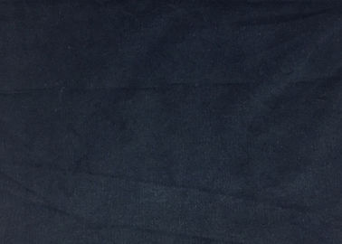 China Indigo / Black 28w Light weight Corduroy Fabric 98 Cotton 2 Spandex Fabric factory