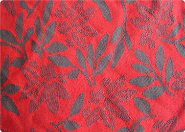 China Lightweight Red Jacquard Dress Fabric Apparel Fabric By The Yard factory