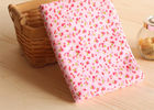 98% Cotton 2% Spandex Candy Floral Corduroy Fabric Fabric supplier