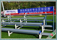 China Indoor / Outdoor Soccer Field Equipment Grandstand Bleacher Seats Retractable company