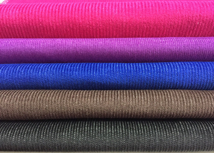 14W 16W 23W Courful Soft T/C Spandex Corduroy , Blue Red Purple supplier