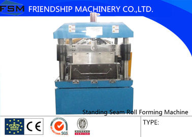 235mpa 15m/Min Standing Seam Roll Forming Machinery With Hydraulic Station