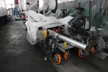 Downspout / Rain Spout Pipe Roll Forming Machine For Rain Water 7.5Kw